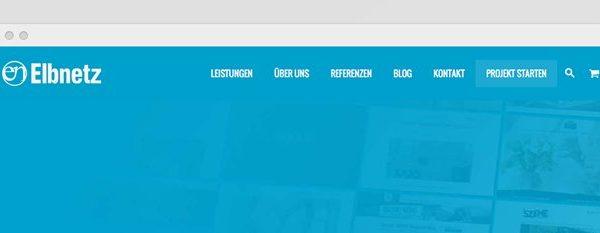 Elbnetz. DasneueWebdesign