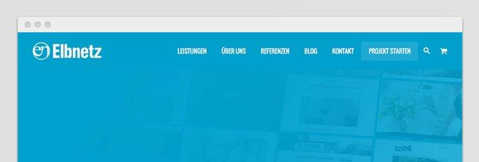 Elbnetz 4.0 - Das neue Webdesign