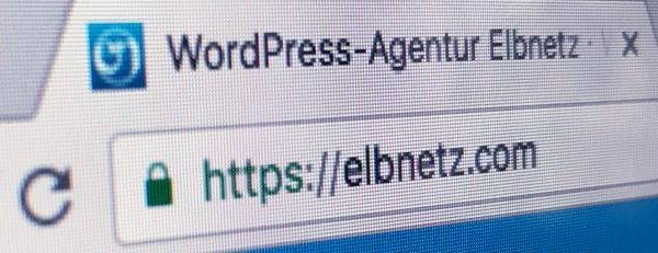 Chrome HTTPS für WordPress