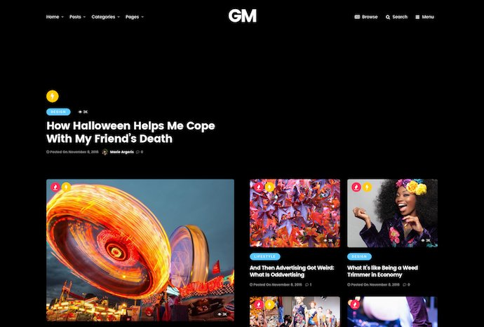 Grand Magazine - News Blog WordPress