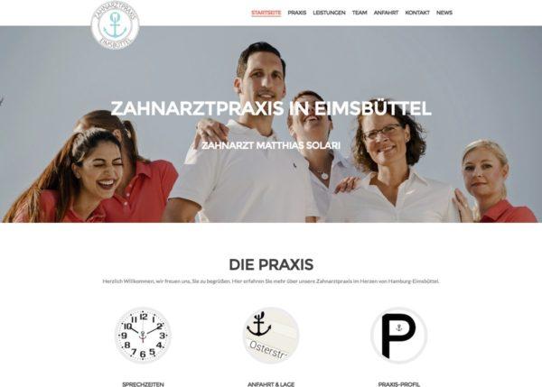 Zahnarztpraxis in Eimsbüttel
