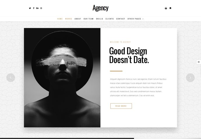 Agency - Creative Multi-Purpose WordPress Theme