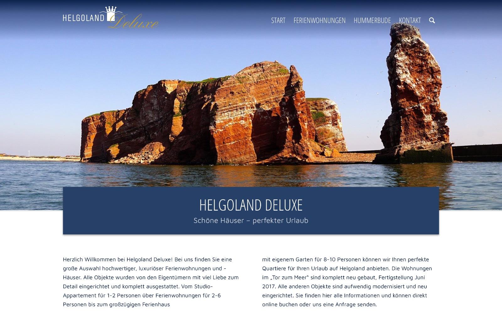 Startseite Helgoland Deluxe