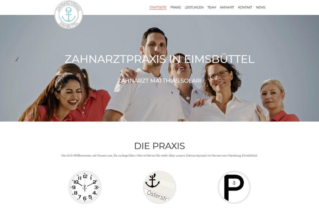 Startseite Zahnarzt in Eimsbüttel