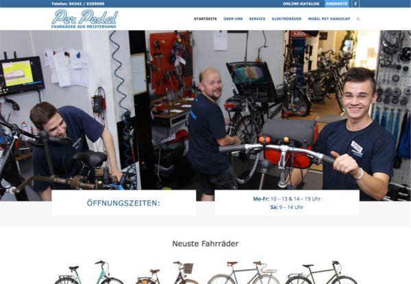 Per Pedal – Fahrradgeschäft