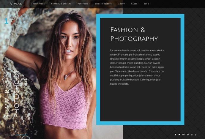 Vivian - Creative Multi-Purpose WordPress Theme