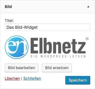 Das WordPress Bild-Widget