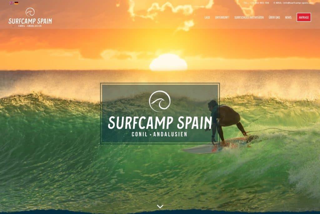 Startseite Surfcamp Spain