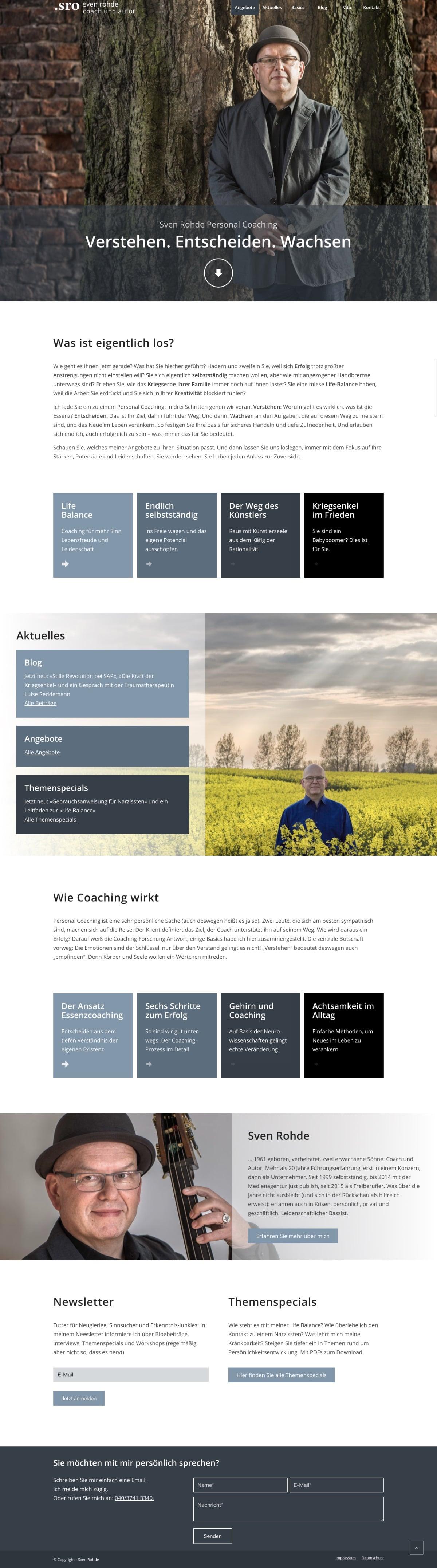 Website Sven Rohde