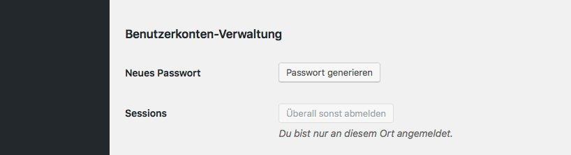automatisch ein Passwort generieren