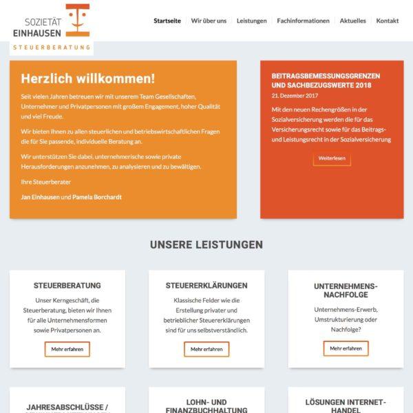 Startseite Sozietät Einhausen