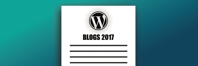 WordPress Blogs 2017