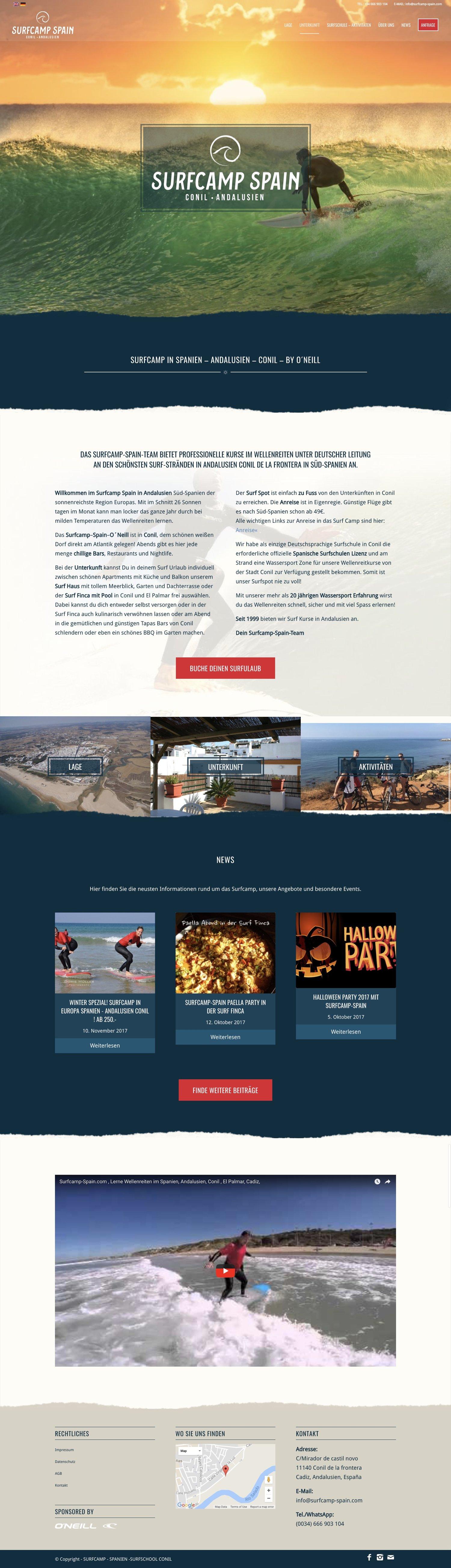 Surfcamp Startseite
