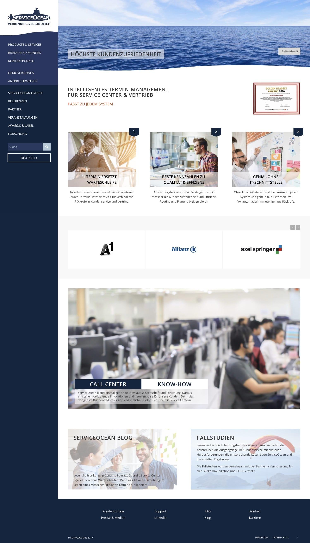ServiceOcean Website
