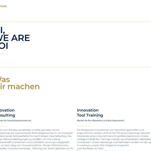 Startseite Tools Of Innovators Relaunch