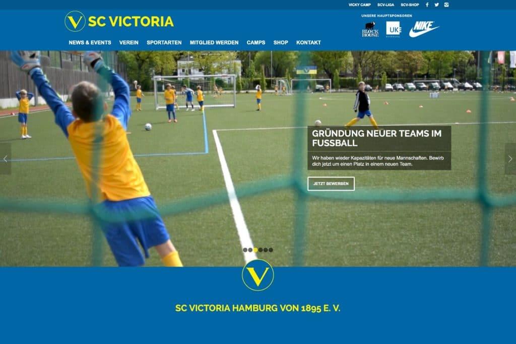 Startseite SC Victoria