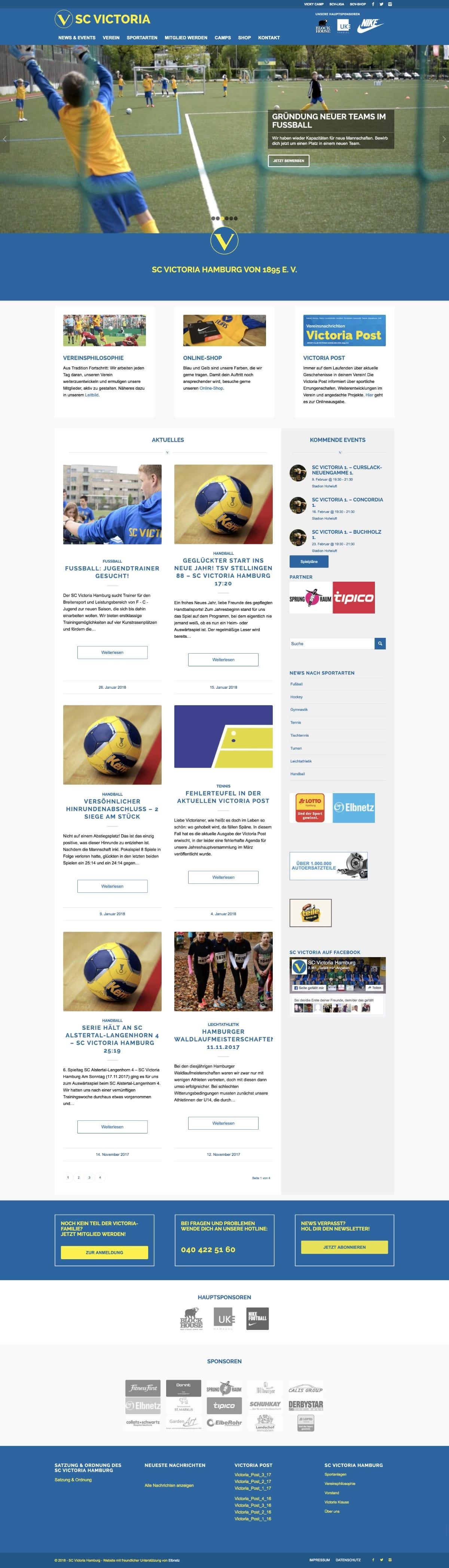 Website SC Victoria