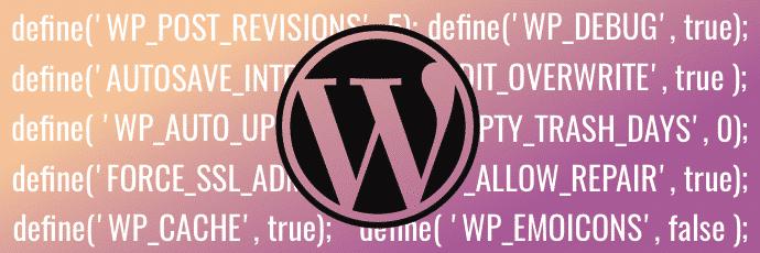 WordPress und die WPConfic