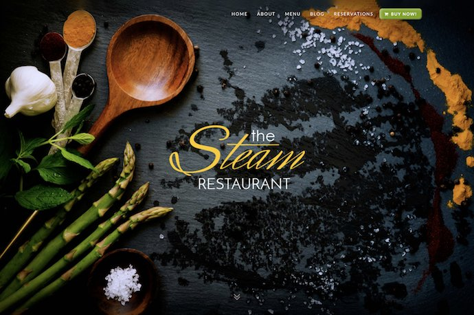 Steam - Multipurpose Restaurant Pub and Cafe WordPress Theme
