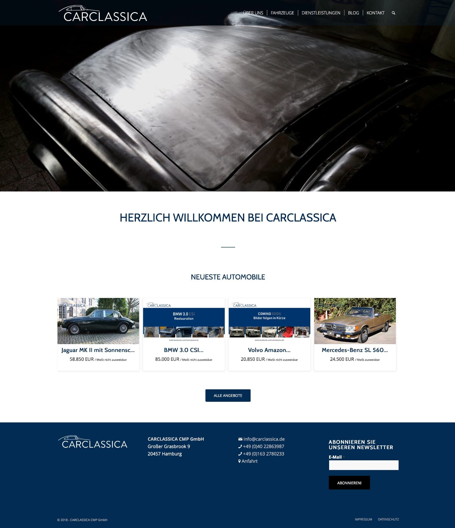 CARCLASSICA Website