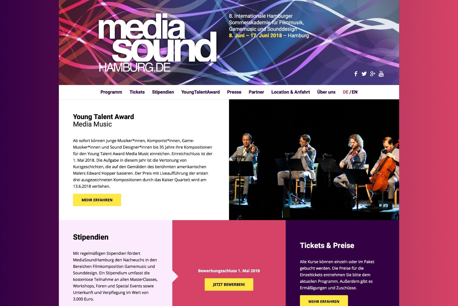 MediaSoundHamburg Startseite