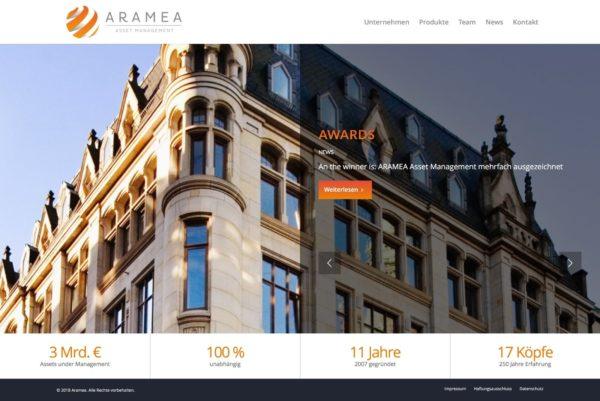 Aramea Startseite