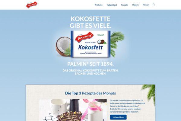 Startseite Palmin.de