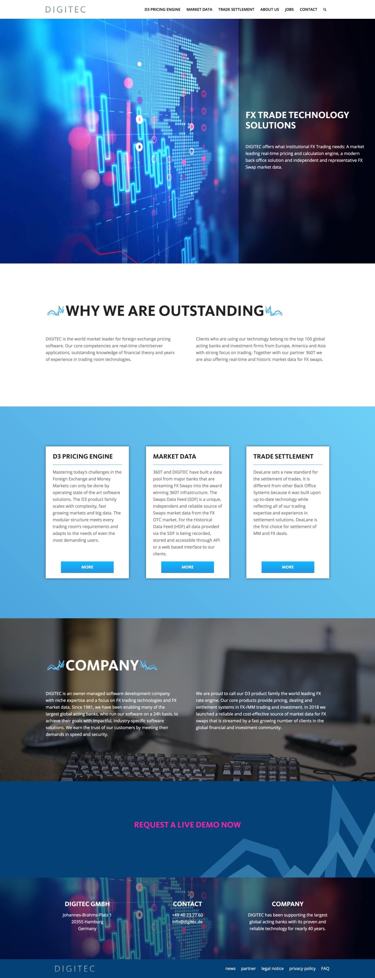 DIGITEC Website