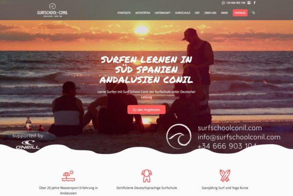 Startseite Surfschool Conil