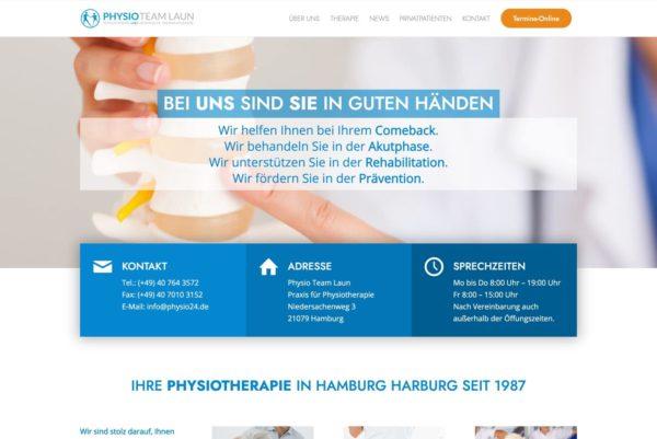 Startseite Physio24.de