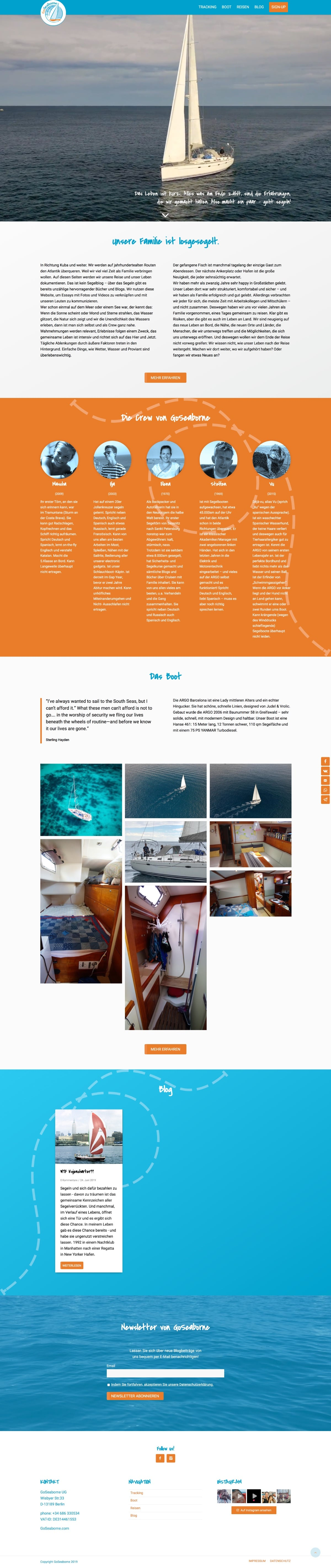 GoSeaborne Website