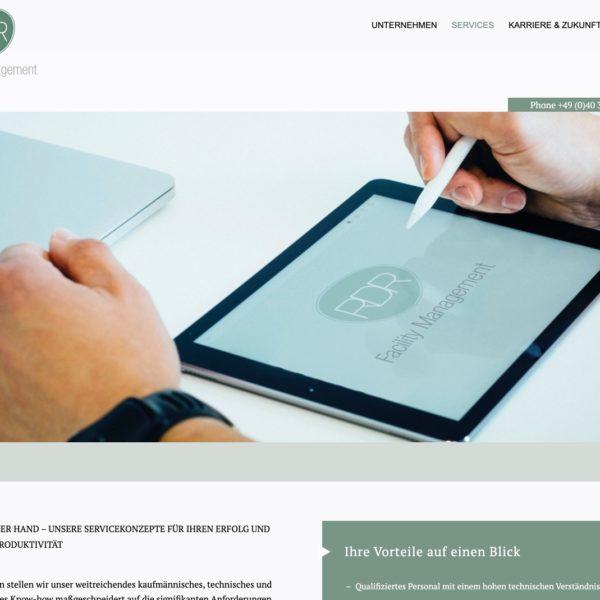 RDR Facility Management - Startseite