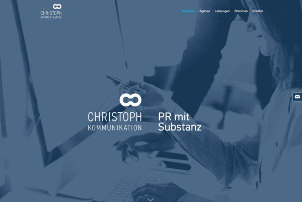 Startseite Christoph Kommunikation