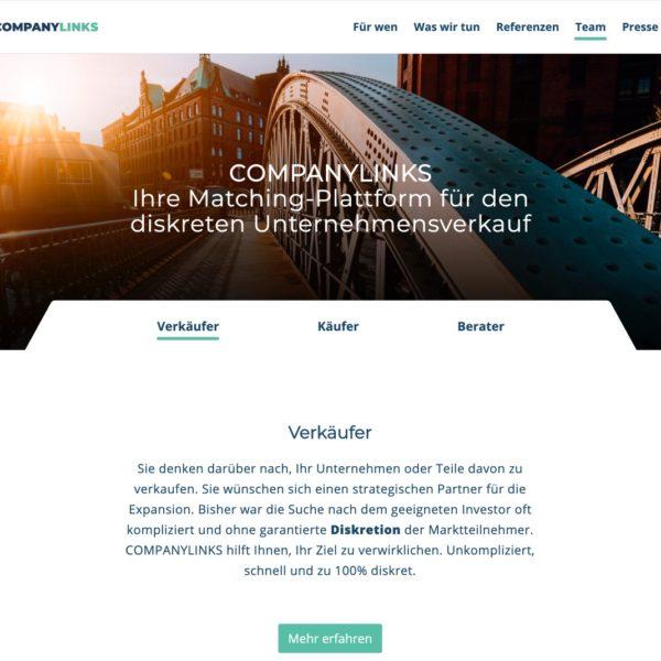CompanyLinks Startseite