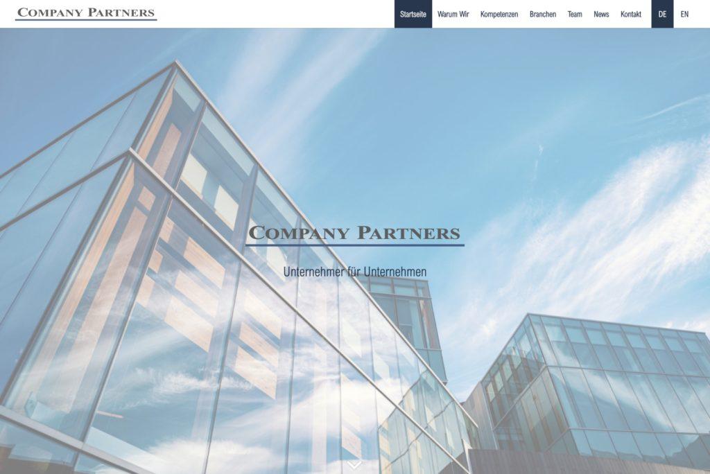 Company-Partners - Startseite