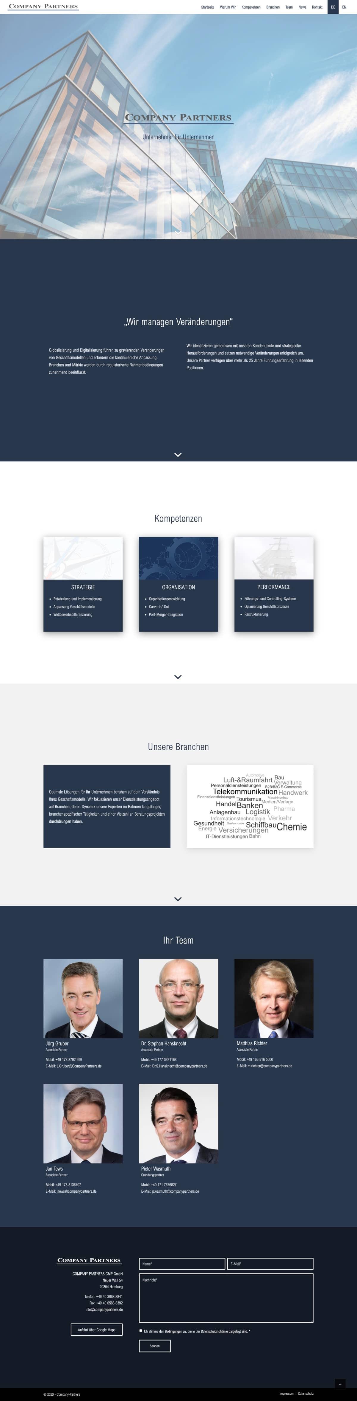 Company-Partners- Website