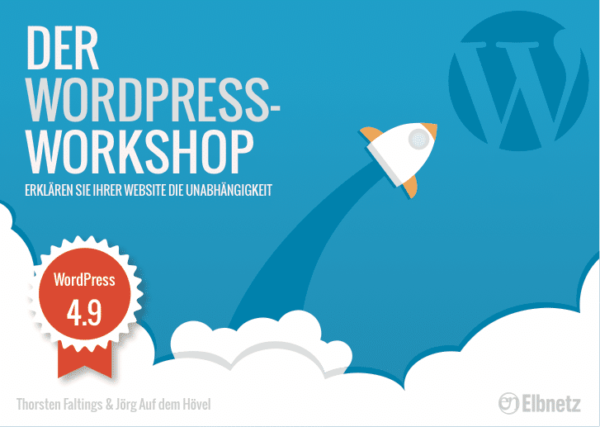 "E-Book ""Der WordPress-Workshop"""