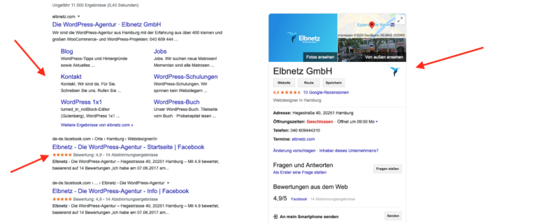 rich snippets elbnetz