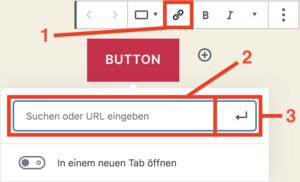 Button verlinken im Block-Editor