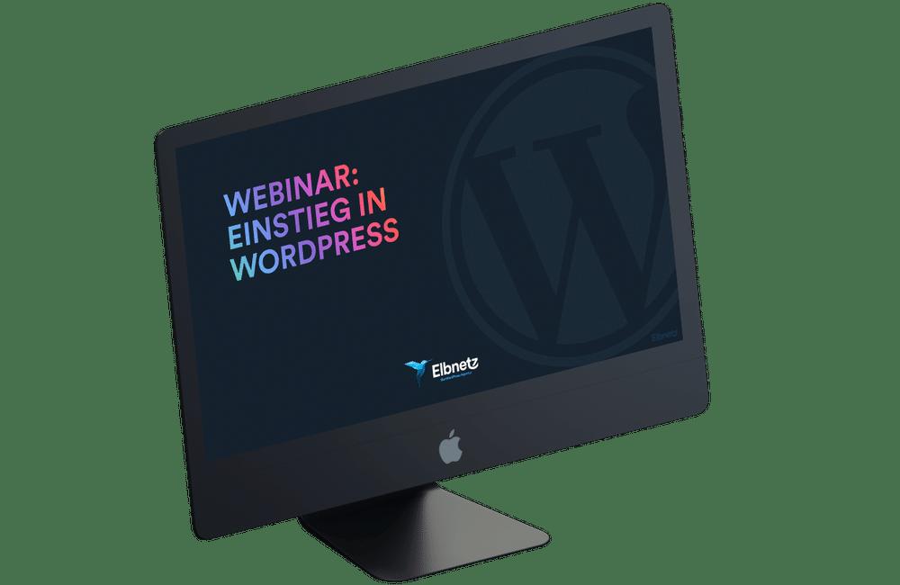 Einstieg in WP - Webinar