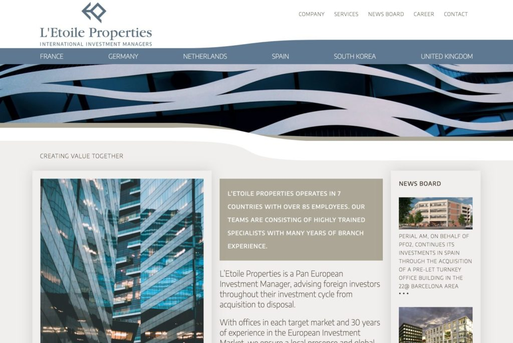 L'Etoile Properties Startseite