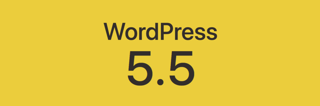 WordPress Update 5.5