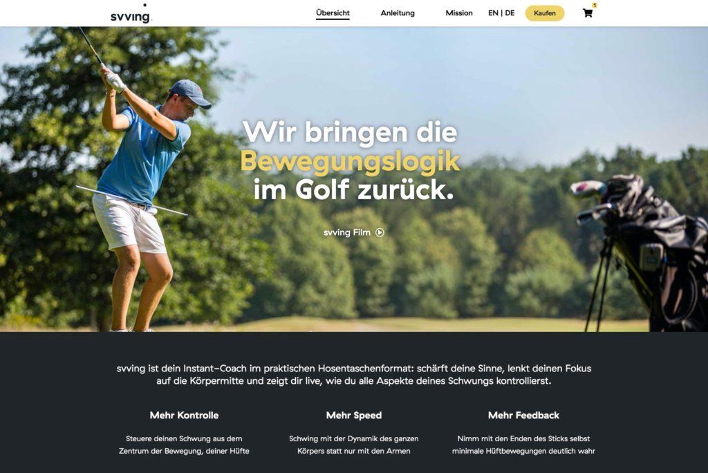 Svvin.com Startseite