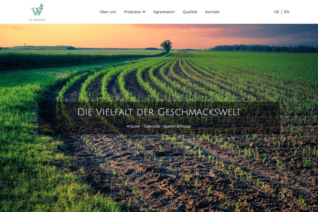 Al Wazzan GmbH - Startseite