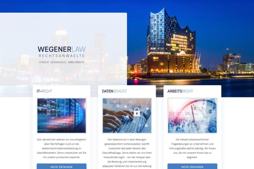 Wegener Law - Startseite