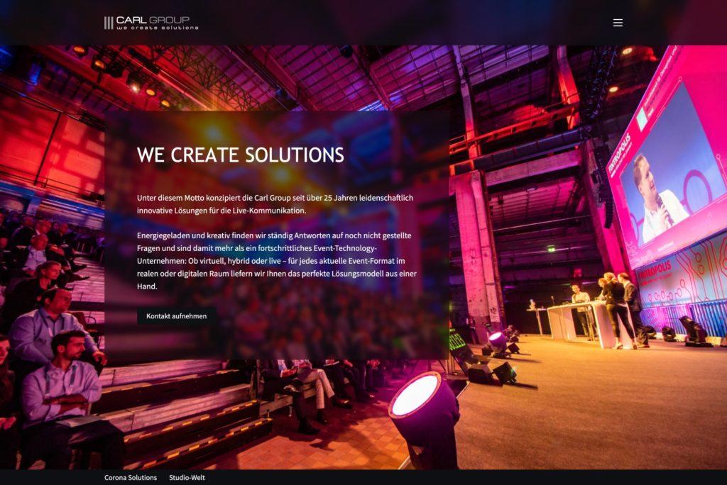 Carl-Group Startseite