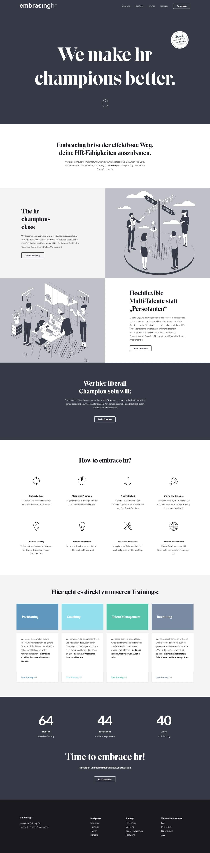 embracinghr - Website