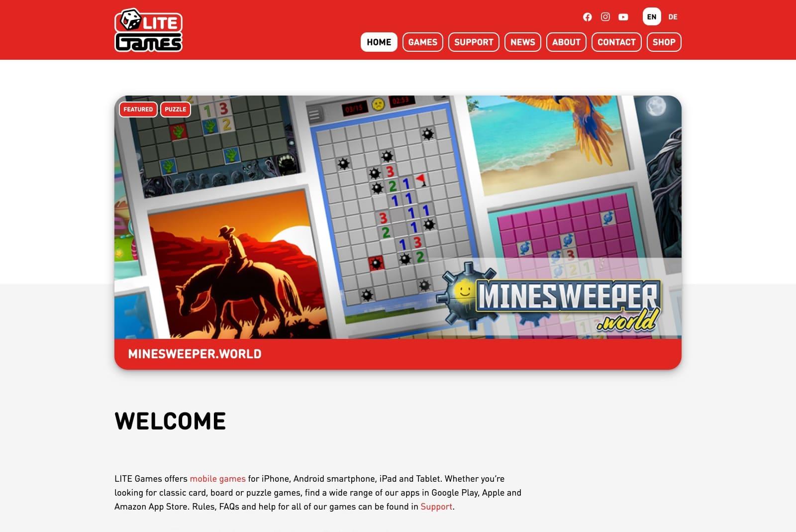 LITE-Games - Startseite