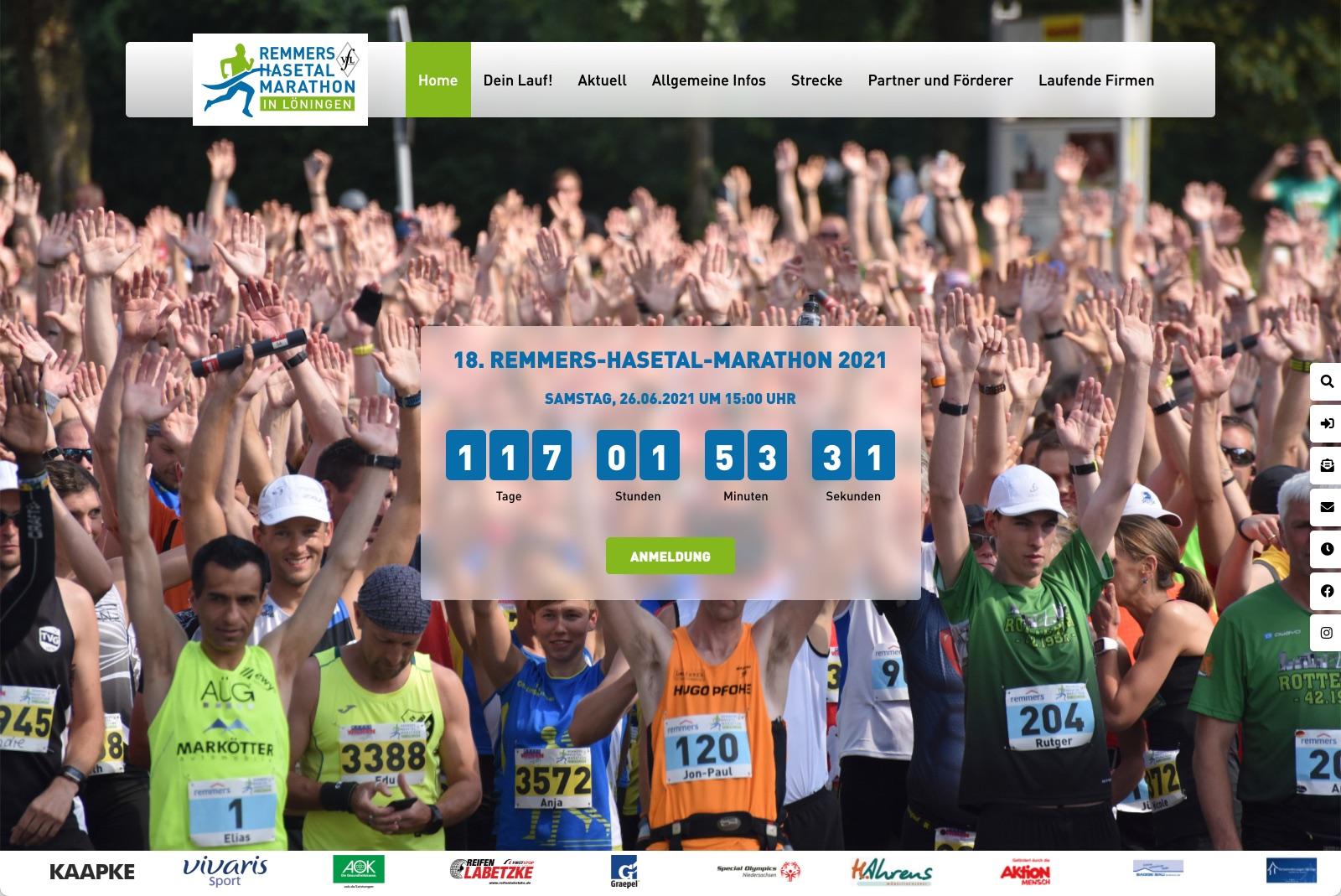 Remmers-Hasetal-Marathon - Startseite