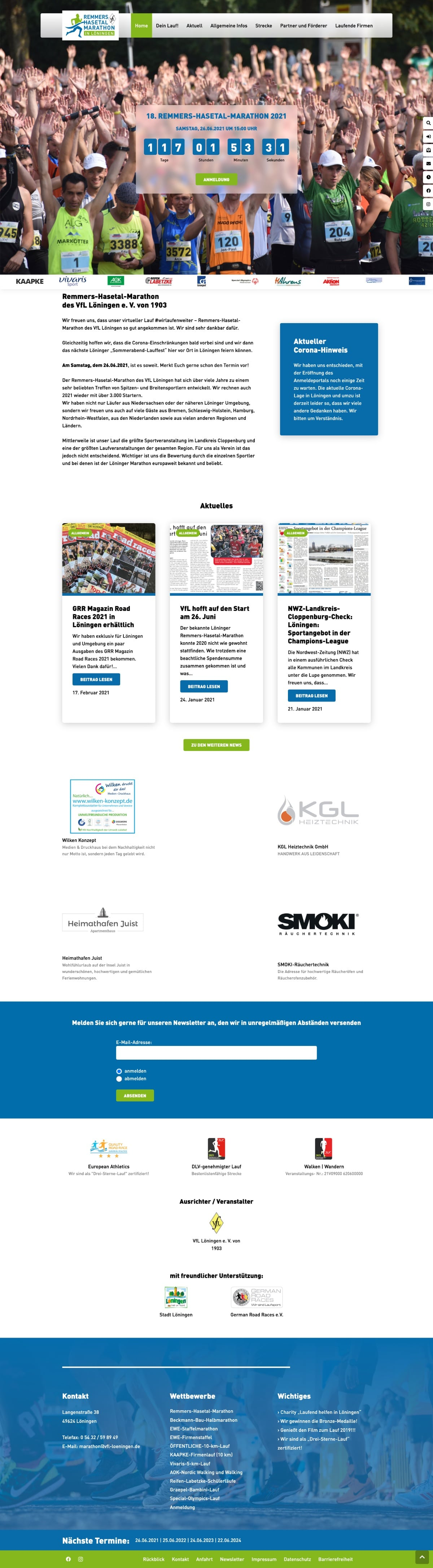 Remmers-Hasetal-Marathon - Website